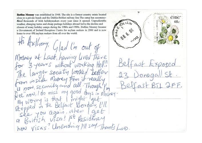 postcard as gaeilge