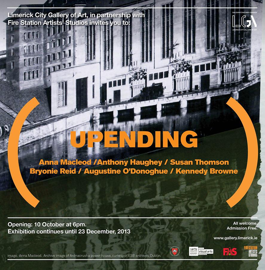 Upending exhibition- LCGA2