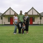 Blessing and Family, Former Butlin's Mosney Holiday Camp, Mosney Reception Centre 2006
